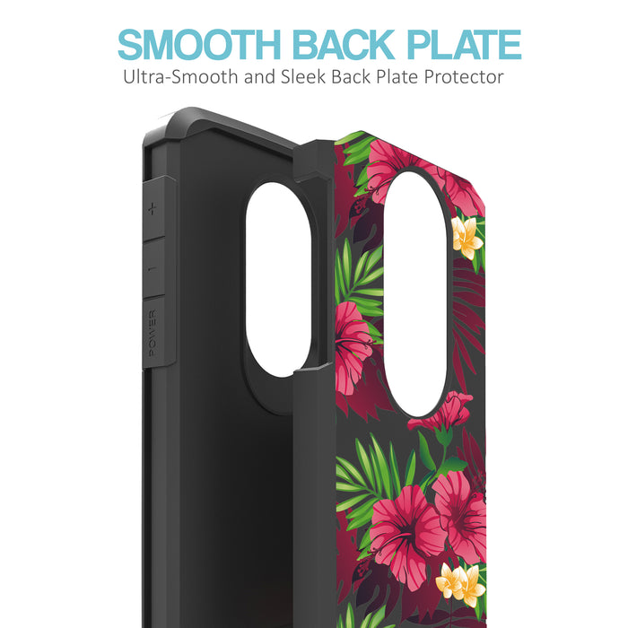 Motorola Moto E5 Cruise  Case [Slim Shield][Tropical Night]