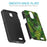 ZTE Prestige Case [Slim Shield][Green Leaves]