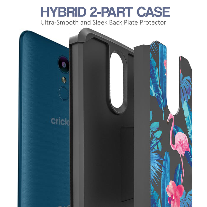 LG Aristo Case [Slim Shield][Flamingos]