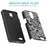 ZTE Prestige Case [Slim Shield][Black Henna]