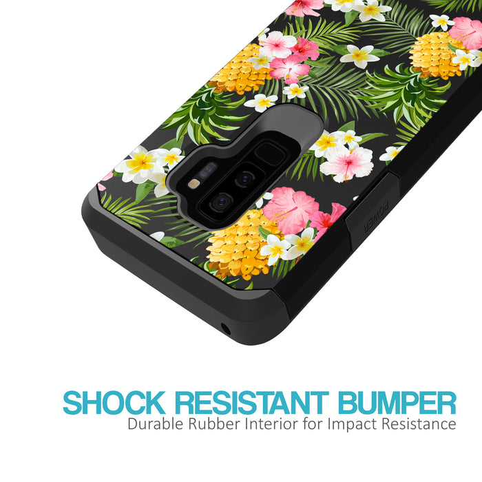 Samsung Galaxy S9 Plus Case [Slim Shield][Tropical Pineapple]