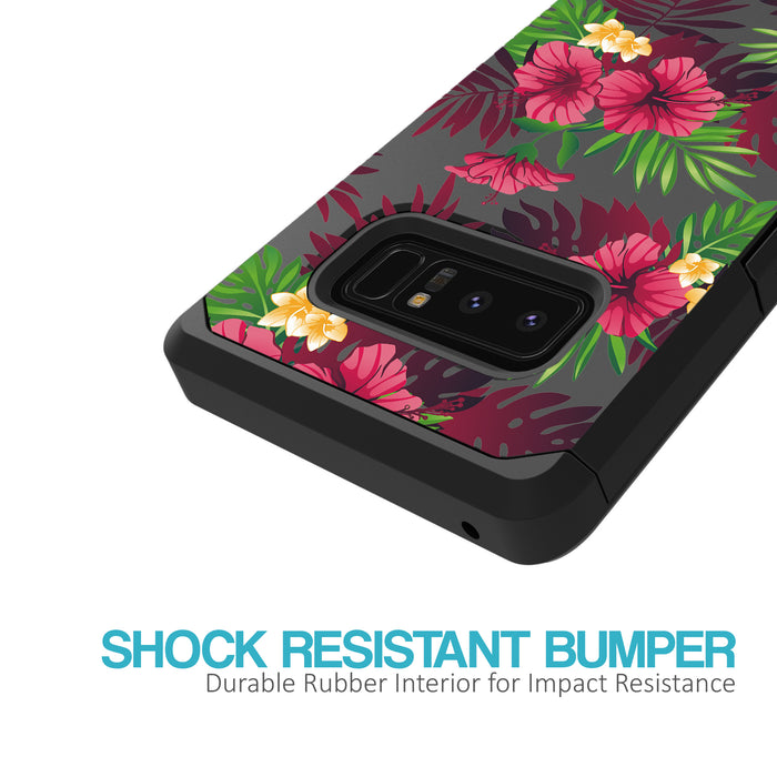 Samsung Galaxy Note 8 Case [Slim Shield][Tropical Night]