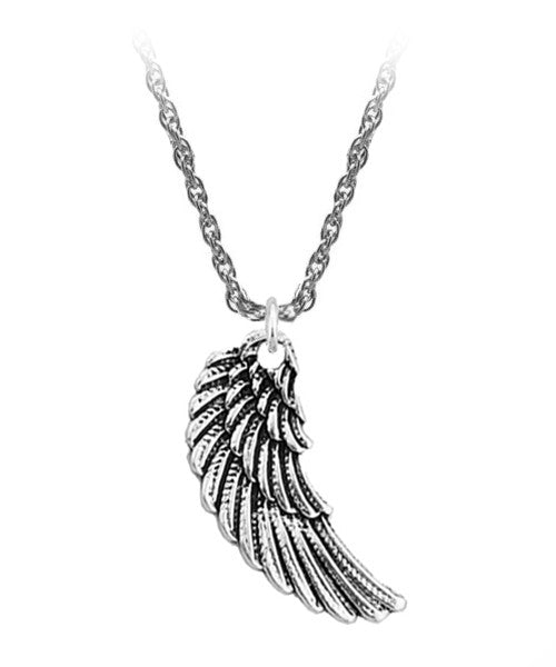 The Wing Necklace in Antique