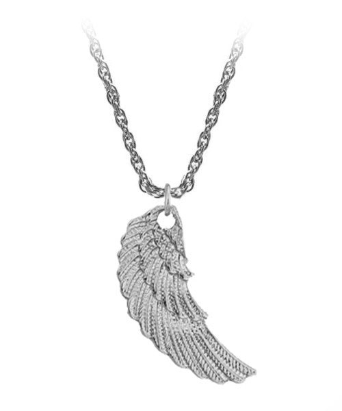 The Wing Necklace in Silver
