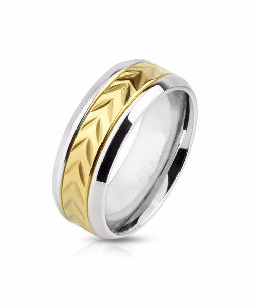 The Cyrptic Ring in Gold