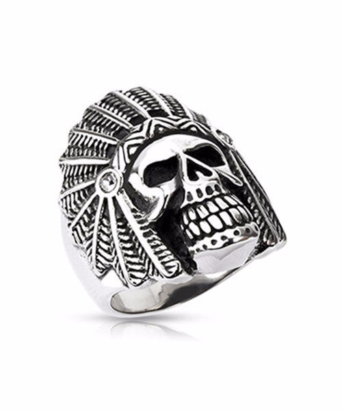 The Chief Ring in Silver