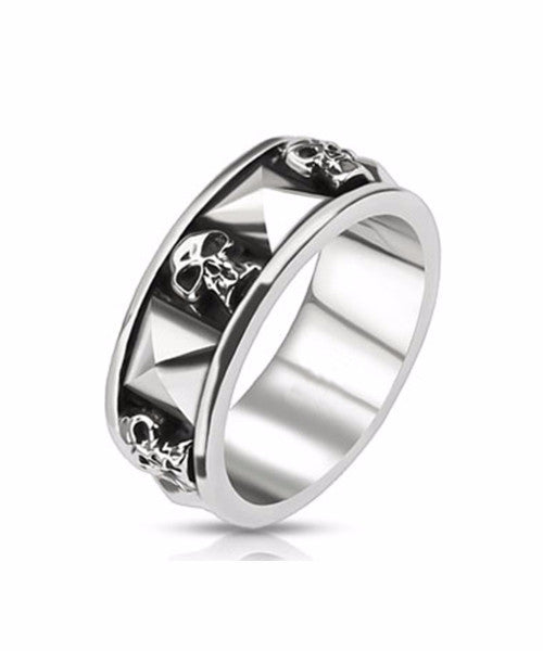 The Reaper Ring in Silver