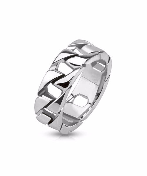 The Curve Ring in Silver