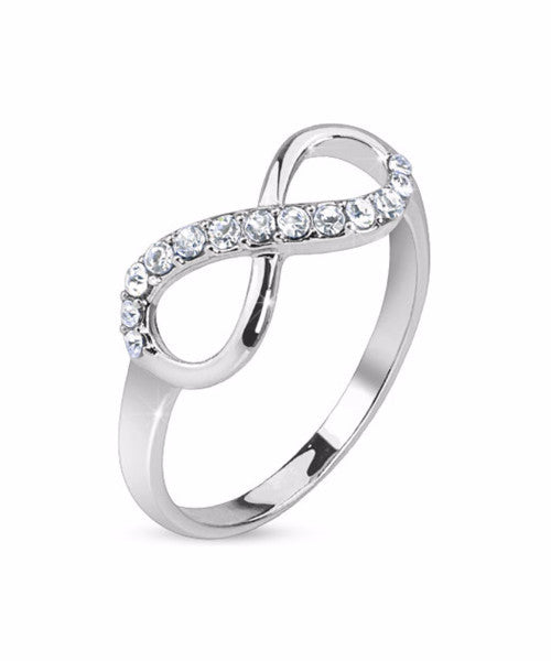 The Infinity Ring in Silver
