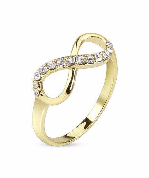 The Infinity Ring in Gold