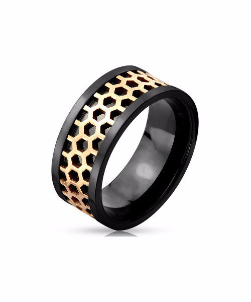 The Hex Ring in Black