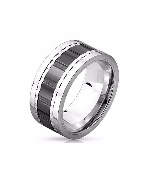 The Barrel Ring in Silver