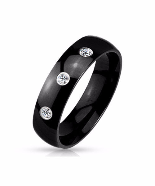 The Trinity Ring in Black