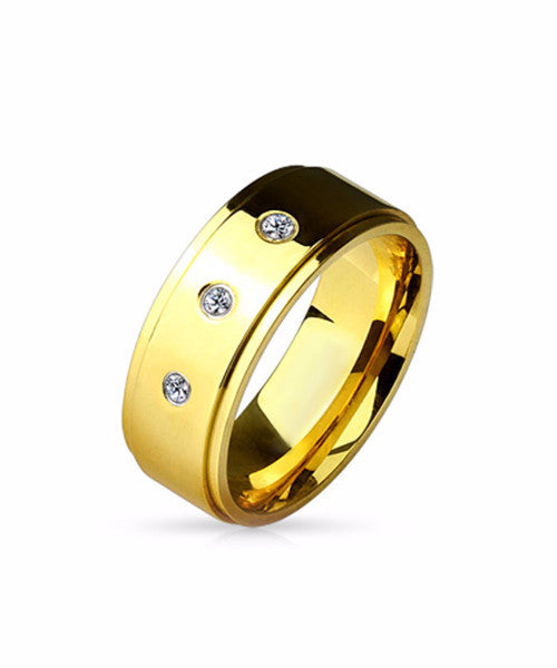 The Power Ring in Gold