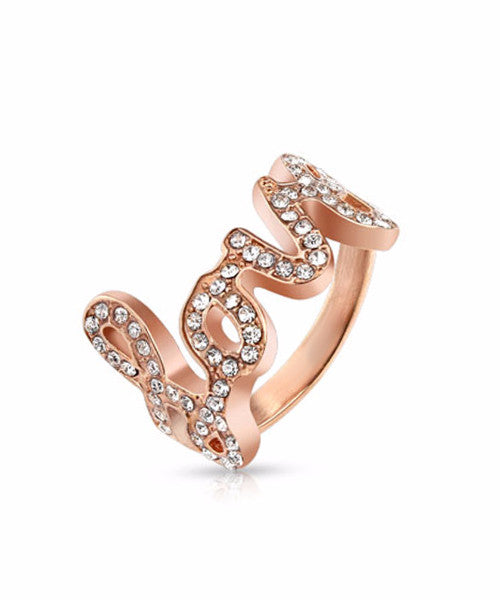 The Lovely Ring in Rose Gold