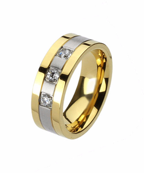 The Honor Ring in Gold