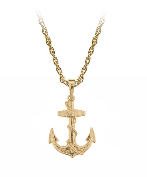 The Anchor Necklace in Gold