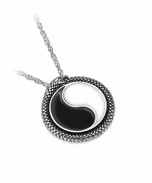 The Yin Yang Necklace in Silver