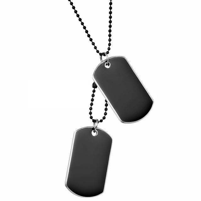 The Dog Tag Necklace