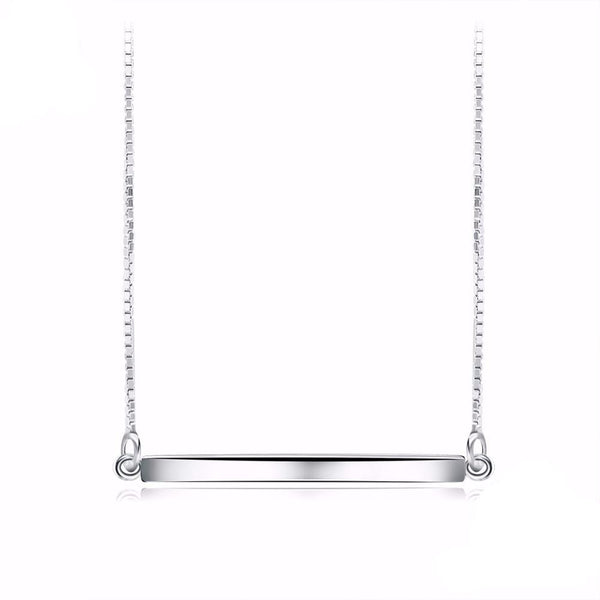 The Bar Necklace - 925 Silver