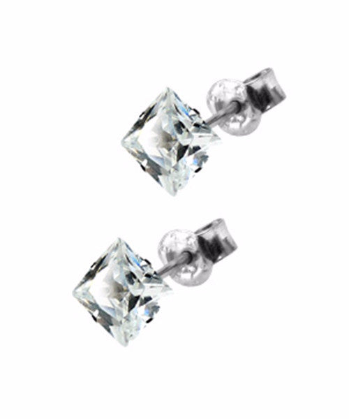 The Diamond Dealer Earrings in Silver