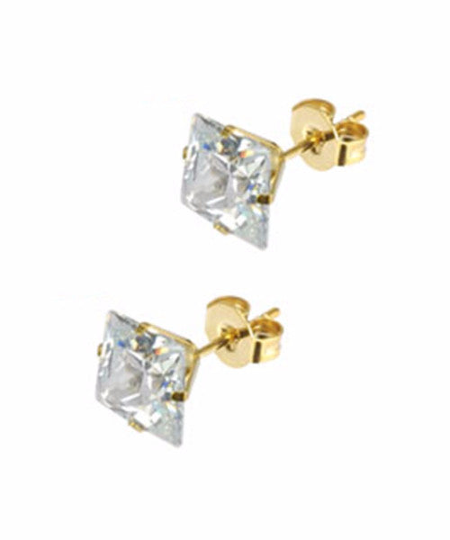 The Diamond Dealer Earrings in Gold