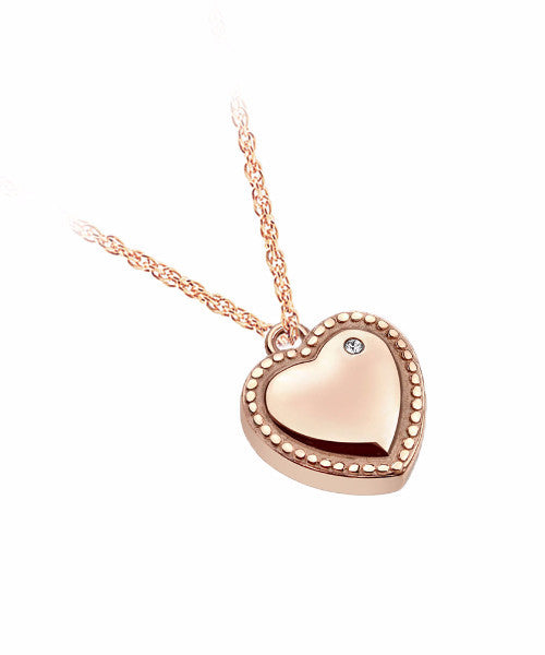 The Adora Necklace in Rose Gold