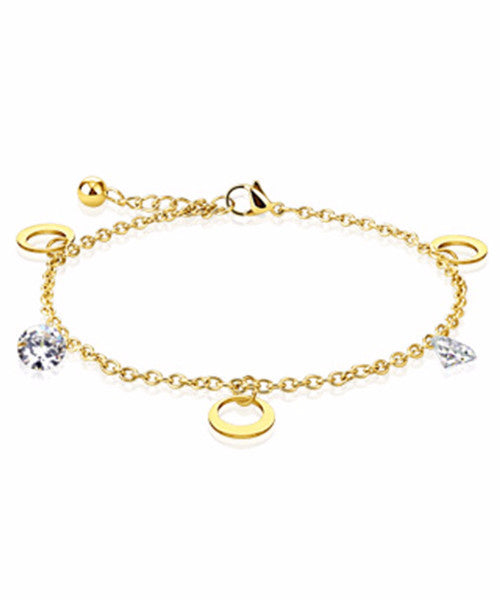 The Crescent Bracelet - Gold