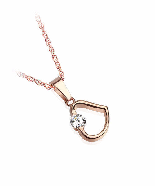 The Divine Necklace in Rose Gold