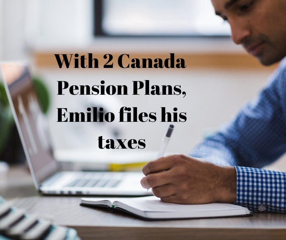 Emilio files his tax return