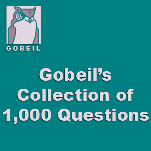 Gobeil's Collection of 1,000 Questions™