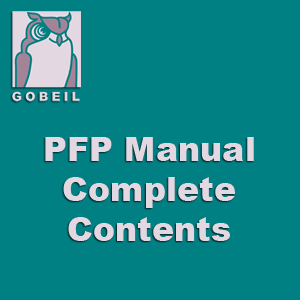 The Personal Financial Planner's Manual™ - Complete Contents