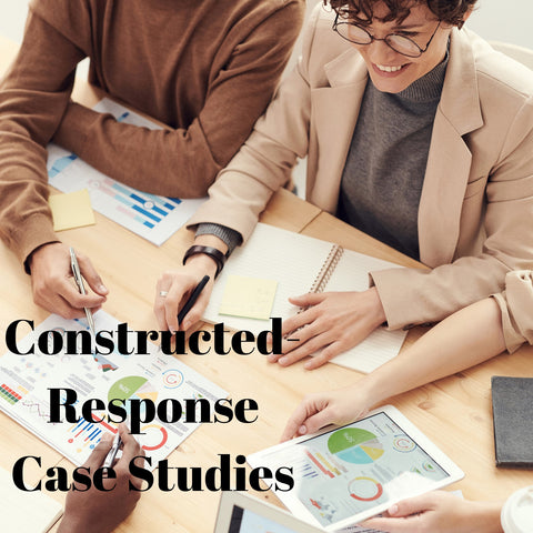 Strategic Financial Planning with Constructed-Response Case Study Questions - CFP