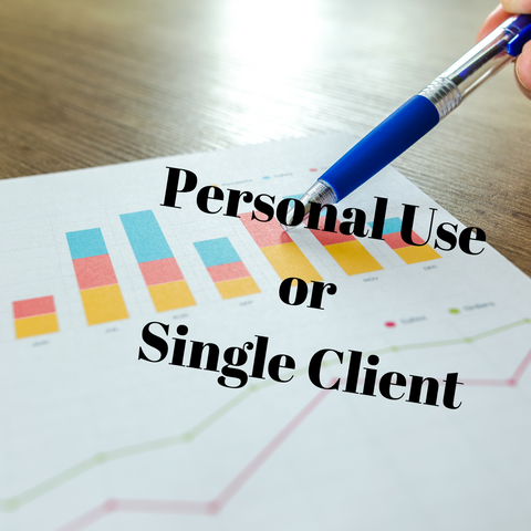 Annual License for Personal Use or a Single Client Plan