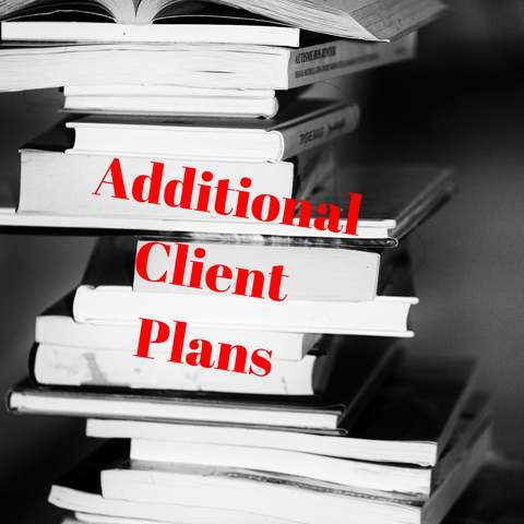 10 or 25  Additional Client Plans - from: