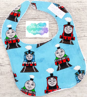 Newborn Baby Bib Thomas The Tank