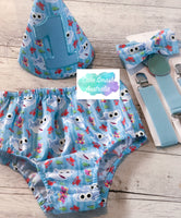 Baby Cake Smash Outfit / First Birthday Outfit / Doo Doo Shark