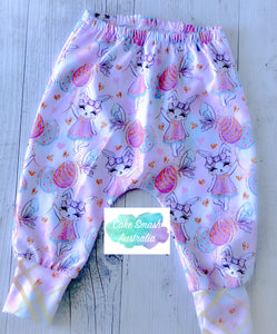 Girls Easter Harem Pants