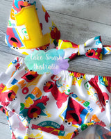 Baby Cake Smash Outfit / First Birthday Outfit / Elmo