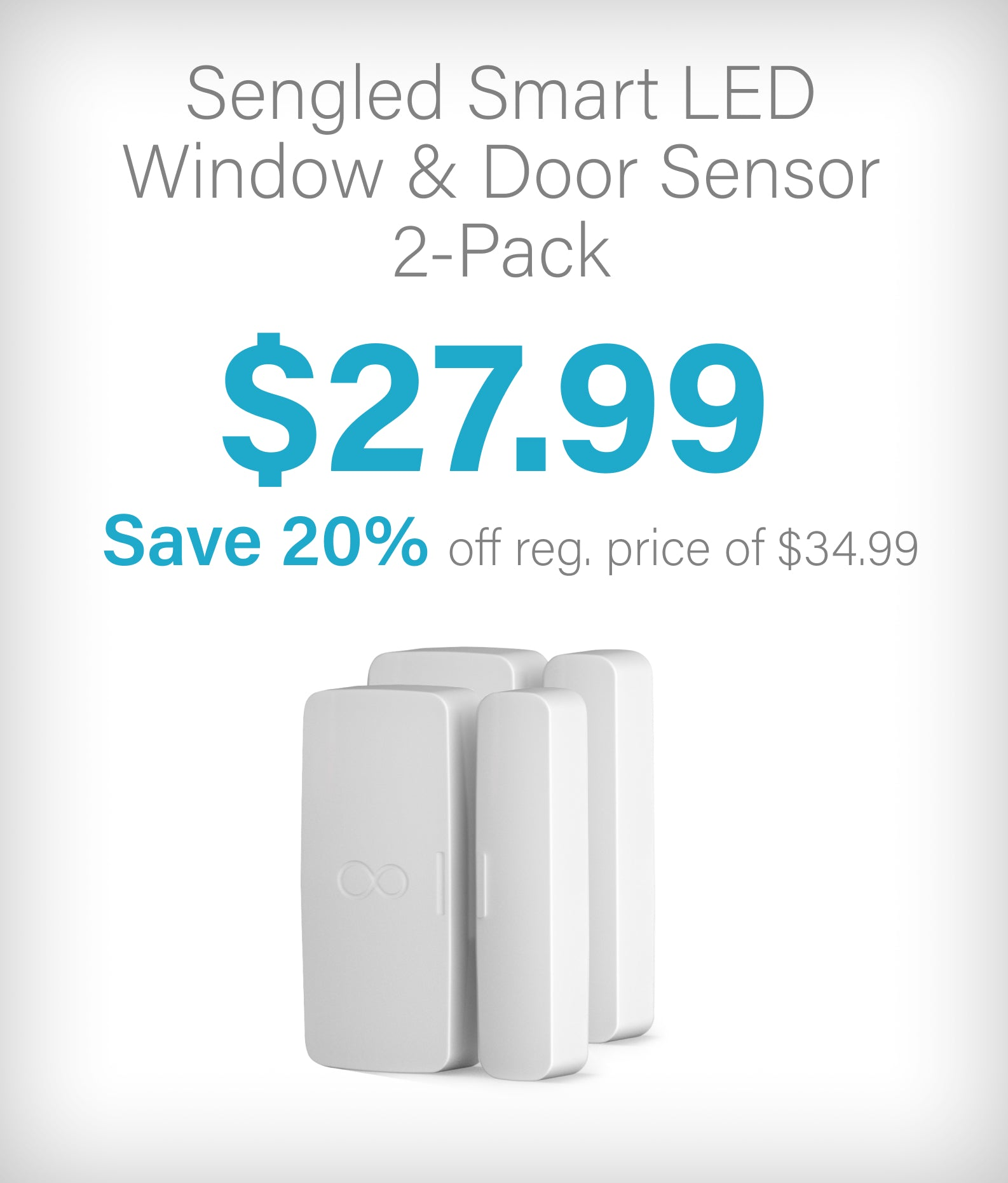 Window and Door sensor 2-Pack