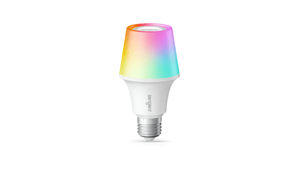 Solo Color Plus RGBW Color Changing light bulb with Bluetooth Speaker