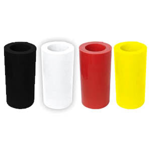 Plastic Roll - 50 Foot Roll - Red
