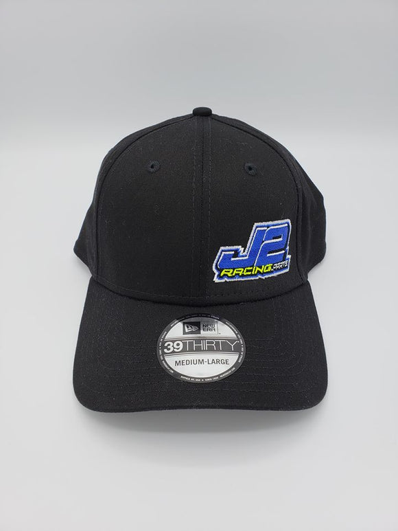 J2Racing Embroidered Hat Flex Fit - Black