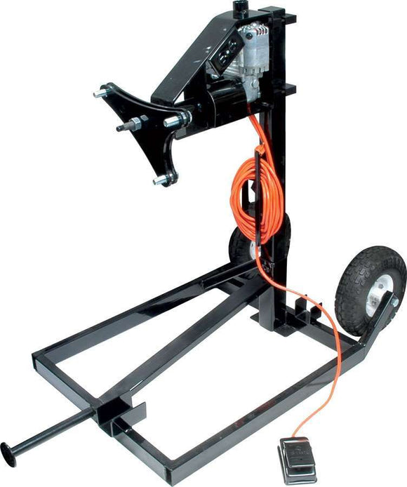 Electric Tire Prep Stand