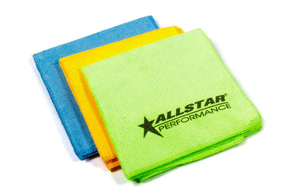 Microfiber Towels 3pk 12in x 12in