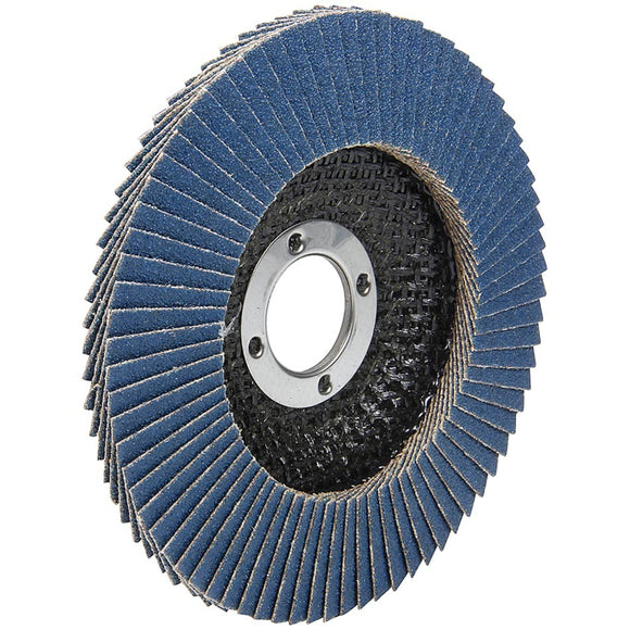 Flap Disc 60 Grit 4-1/2in with 7/8in Arbor