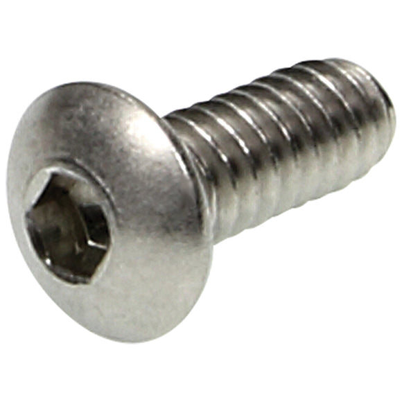 Button Head Bolts 10-24 x 1/2in 25pk SS