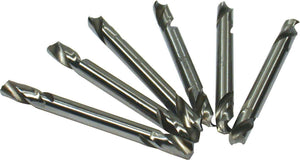 3/16 Double Ended Drill Bit 6pk