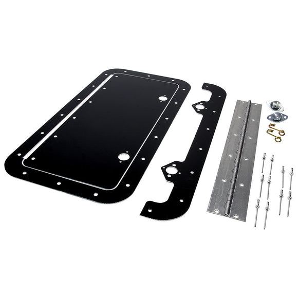 Access Panel Kit Black 6in x 14in
