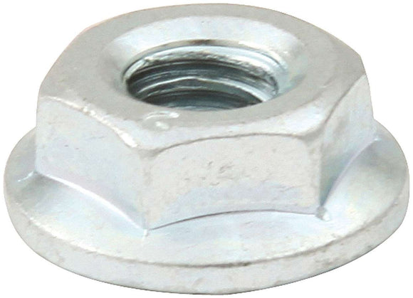 Spin Lock Nuts 50pk Silver